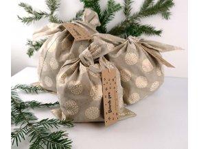 bento taška vanoční dárková ornament nicebelly