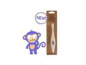 detsky zubni kartacek jack n jill opice