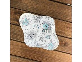 Slipová vložka Šedé květy (bavlna), Breberky