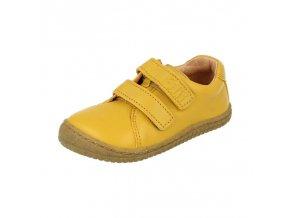 soft walk velcro bio leather lemon w filii barefoot