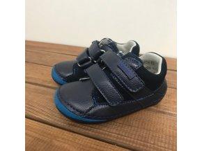 Celoroční kožené boty NED denim, Protetika