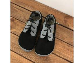Celoroční boty - černé (rychloupínací systém), Fare bare