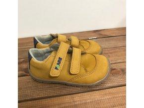 Celoroční boty - hořčicová, Fare bare