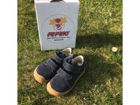 Nízké kožené barefoot boty Tony see M, Ricosta Pepino