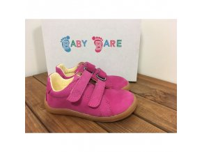 baby bare shoes febo spring fuchsia nubuk 4