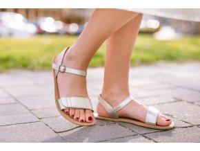 barefoot sandale be lenka grace gold 2072 size large v 1