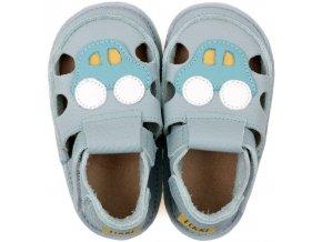 sandalky blue car podrazka 2 mm tikki shoes