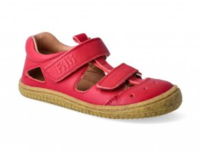 11711 1 barefoot sandalky filii bio kaiman nappa strawberry m 2 2