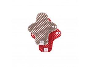 Menstruační denní vložky - Moon pads midi - puntíky 2 ks, Ella´s house