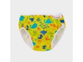 schwimmwindel badehose yellow
