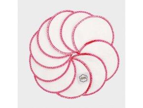 wattepads weiss pink