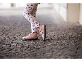 Dětské zimní barefoot boty Be Lenka Penguin - Pink, Be Lenka