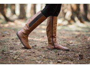 Barefoot kozačky Be Lenka Sierra – Brown, Be Lenka