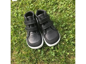 Baby Bare Shoes Febo Fall Black (ASFALTICO)