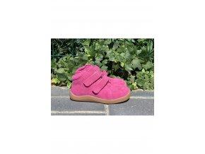 Baby Bare Shoes Febo Fall Fuchsia Velour