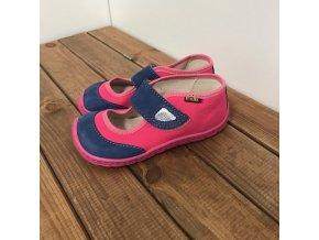 Barefoot balerínky -  modro růžové, Fare bare