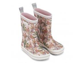 Holínky Classic Rubber Boots - Rose Flamingo, Bundgaard, Bundgaard