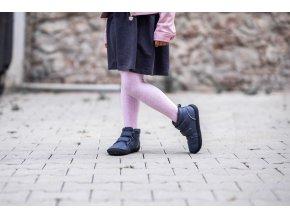 detske barefoot topanky penguin charcoal 4506 size large v 1