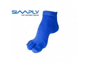 anatomicke prstove ponozky simply modre
