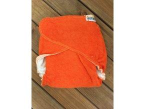 Chobotová plena - Oranžová - velikost 1 (3-8 kg), KatyvBaby