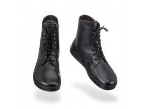 Kožená obuv peerko FROST BLACK, Peerko