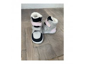 baby bare shoes febo winter greypink asfaltico