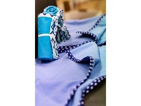 Přebalovací podložka malá 50x70 cm - modrofialová, Katka Černá