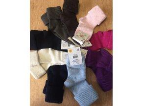 Dětské vlněné ponožky - velikost 9 (32-34), Diba