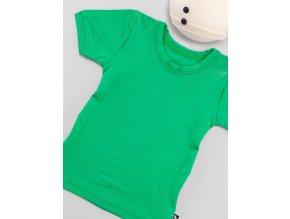Triko krátký rukáv - zelená, Duomamas