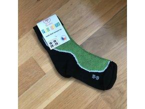 Ponožky Surtex LÉTO dětské (50%) - zelená, Surtex