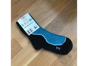 Ponožky Surtex LÉTO dětské (50%) - tyrkysová, Surtex