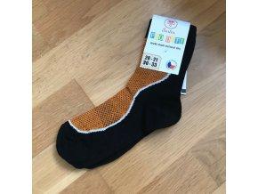 Ponožky Surtex LÉTO dětské (50%) - oranžová, Surtex