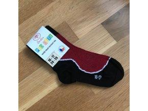 Ponožky Surtex LÉTO dětské (50%) - červená, Surtex