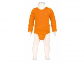 Body / tričko merino Festive Orange, Manymonths