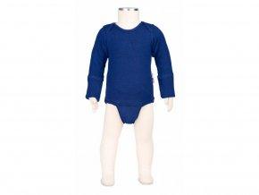 Body / tričko merino Jewel blue, Manymonths