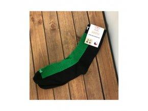 ponozky surtex 80 merino15 bavlny zelena