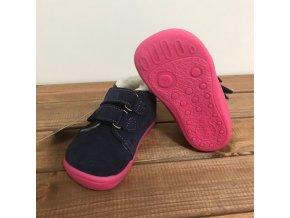 Zimní kožené boty s kožíškem a membránou na suchý zip - Elisha, Boty Beda