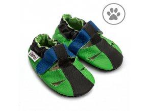 liliputi soft paws baby sandal bamboo 4925