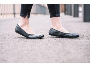 Barefoot baleríny QARMA Black, ZAQQ