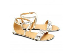 Barefoot sandále QEEP Gold, ZAQQ