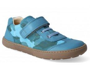Barefoot tenisky - Bernardo laces turquoise, KOEL4kids