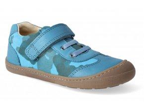 Barefoot tenisky - Bernardinho laces turquoise, KOEL4kids