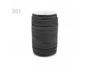 Klobouková guma průměr 3 mm (nejen na tkaničky)