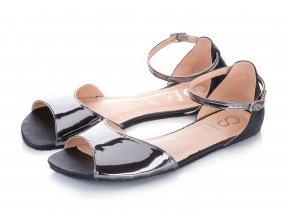 shapen barefoot damske sandalky lily black (1)