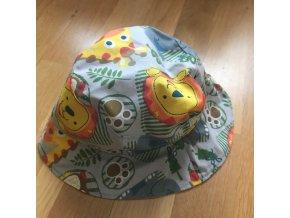 Bavlněný klobouček - ZOO, Katka Černá