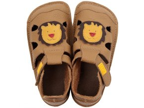 leather barefoot sandals nido leo 21295 4