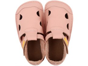 leather barefoot sandals nido rosa 21265 4