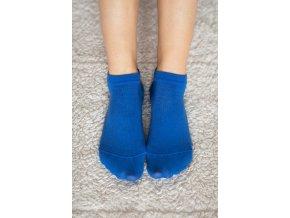 barefoot ponozky kratke modre 2273 size large v 1