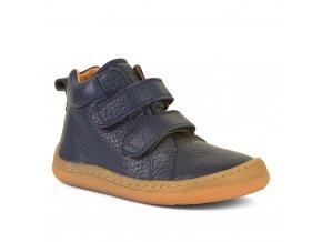 Barefoot kotníčkové boty HIGH TOPS - Blue, Froddo