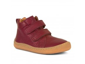 Barefoot kotníčkové boty HIGH TOPS - Bordeaux, Froddo
